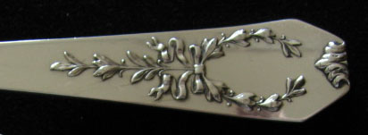 Madam Jumel by Whiting Sterling Silver Pastry Server Fancy Vermeil HH Custom